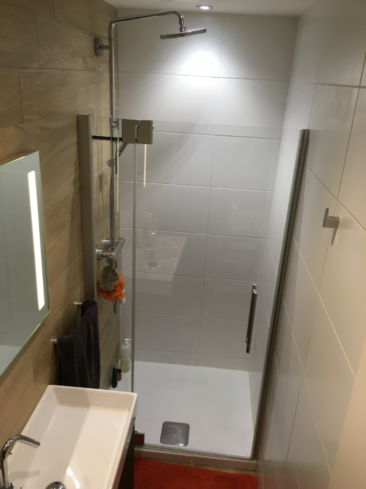 Installation salle de bains